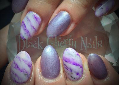Black-Cherry-Nails-chrome-purple-marble-coquitlam
