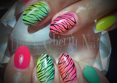 Black-Cherry-Nails-neon-leopard-coquitlam