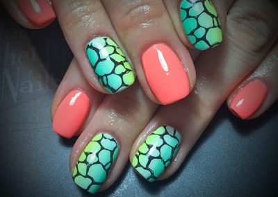 Black-Cherry-Nails-neon-ombre-stamp-coquitlam